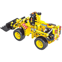 2-in-1 Transformable Assembly Building Blocks Car for Children Puzzling Toys