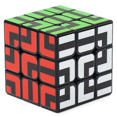 ZCUBE 3 x 3 x 3 Smooth Puzzle Maze Magic Cube