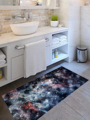 Galaxy Print Removable Floor Sticker