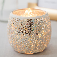 Modern Home Decor Glass Ball Candle Holder Wedding Party Decorations