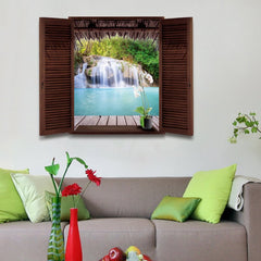 SIMRQ166 Landscape Removable PVC Wall Sticker