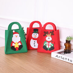 Santa Claus Gift Bags Merry Christmas Candy Bags Decor
