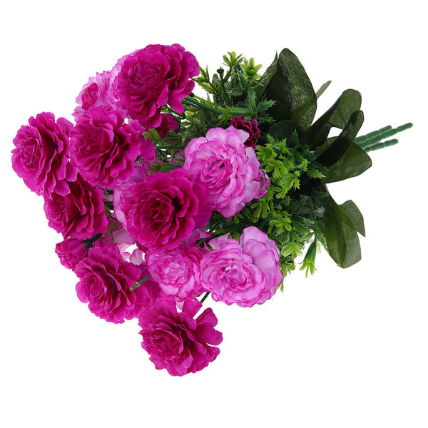 A Bouquet of 6 Heads False Eustoma Home Decor Artificial Flower