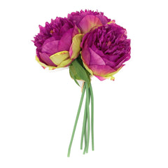 A Bouquet of 5 Heads Peony Home Decor Artificial Flower