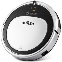 MinSu MSTC09 Smart Navigation Robotic Vacuum Cleaner Remote Control Floor Cleaning Robot