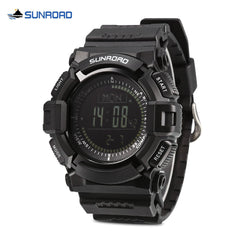 SUNROAD FR823B Multifunctional Outdoor Sports Electronic Wrist Watch