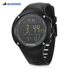 SUNROAD FR722A Fishing Digital Watch Altimeter Compass Barometer 5ATM Wristwatch