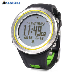 SUNROAD FR800NA Multifunctional Digital Sports Watch Altimeter Barometer Pedometer Wristwatch