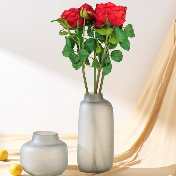 Sweet A Bouquet of Room Decoration Silk Artificial Rose Flower
