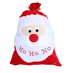 Exquisite Christmas Day Decoration Santa Large Sack Stocking Big Gift Bags
