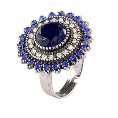 Jewelry  Fashion Sunflower Ring Opening Ring