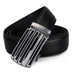 COWATHER Leather Automatic Buckle Casual Business Fashion Belt