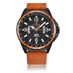 NAVIFORCE Date of Men's Leisure Sports Water Resistant Quartz Watch
