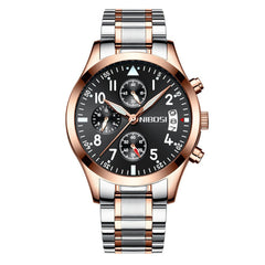 NIBOSI 2303 Men Sport Male Chronograph Casual Man Luxury Wrist Watches