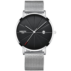 NIBOSI Men Leisure Fashion Ultra-thin Water Resistant Quartz Watches