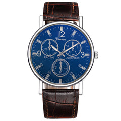 Geneva Men Fashion Analog Quartz Watch