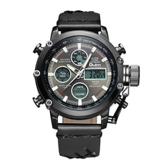 OULM Men's Casual Fashion Business Electronic Quartz Watch