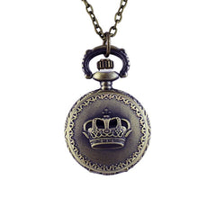 Cheapest Vintage Aulic Elegant Pocket Watch with Long Chain