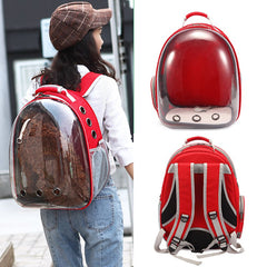 1Pc Portable Cat Capsule Backpack breathable outdoor portable pet Backpack Carr