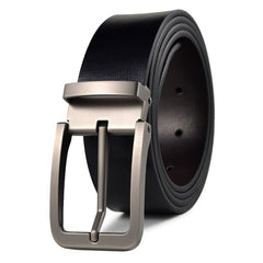 Men's Belt Classical Trendy Pin Buckle Brief Design Belt Accessory