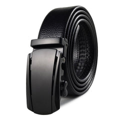 Men'S Belt Sports Cat Style Automatic Buckle Belt Accessory