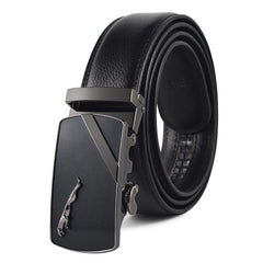 Men's Belt All Matched Business Alloy Buckle Belt Accessory