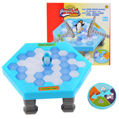 Ice-block Breaking Game Save Penguin Table Game Puzzle Toys