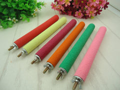 Parrot Brother / Bird's Nest Frosted Rod Grinding Claw Grinding Rod / Standing Bar Bird Cage Pet Sup