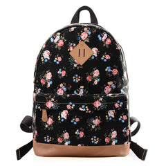 DGY Fashion Printed Backpack for Teenage Cute Schoolbag