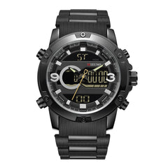 Mizums Top Brand Men Military Sport LED Analog Digital Watches