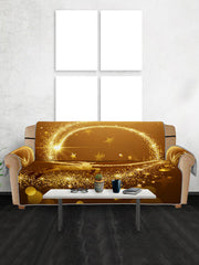 Christmas Elk Starlight Pattern Couch Cover