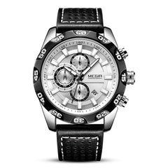 MEGIR 2096 Multi-Function Sports Japanese Movement Men'S Watch