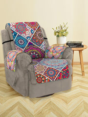 Mandala Patchwork Pattern Couch Cover