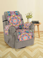 Bohemian Mandala Pattern Couch Cover