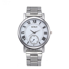 Men and Women Fashion Wrist Watch 1324HJ Steel Belt Watch