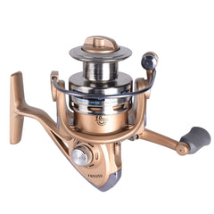 New Fishing Coil Wooden Handshake Professional Metal Left Right Hand Reels
