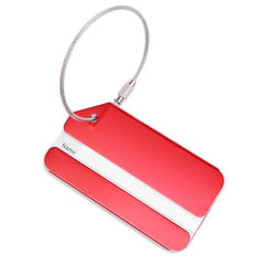 Pure Metal Luggage Checked Consignment Board Aluminum Luggage Tag