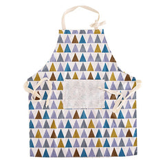 Thicken Cotton Linen Oil-proof Big Pocket Apron