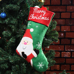 Christmas Socks Christmas Decorations Old Elk Christmas Gift Bags Candy Bag Pendant
