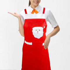 Christmas Decoration Party Kitchen Supply Nonwoven Apron