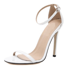 Women's Stiletto Open Toe Shoes Sexy Sandals