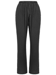 Sleepwear Polka Dot Print Pants