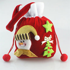 Christmas Drawstring Gift Bags Large