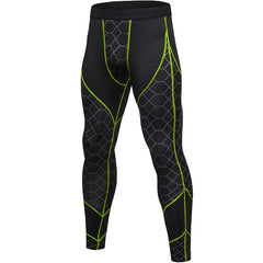 Fitness Printing Sports Running Training Wicking Quick-Drying High-Elastic Tight