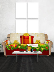 Christmas Gifts Pattern Couch Cover