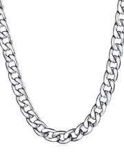 Simple Design Stainless Steel Chain Necklace