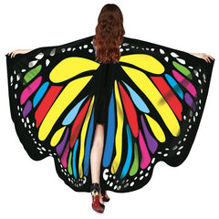 Rotating Butterfly Dance Decorative Shawl