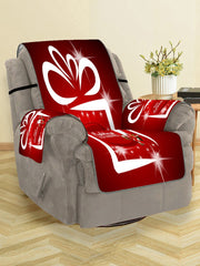 Father Christmas Printed Couch Cover