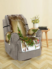 Merry Christmas Tree Gift Pattern Couch Cover
