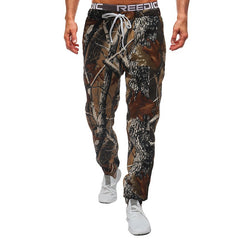 Male New Fashion 2018 Slim Tree Camouflage Men Casual Pants Man Trousers